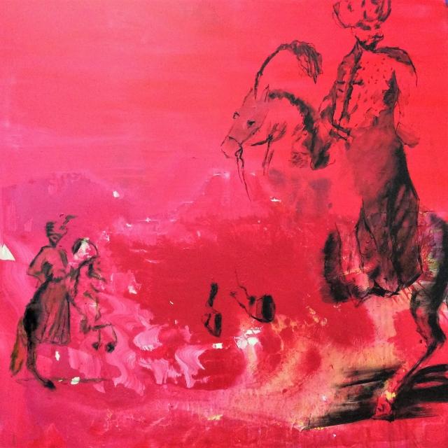 Süleyman der Prächtige, Acryl auf Leinwand, 2017 ,80x80